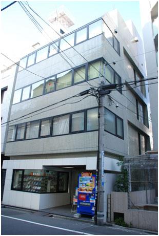 渋谷教会正面